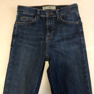 Topshop jeans. Another pair that is too small